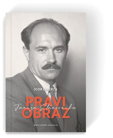 knjiga s portretom Janeza Stanovnika
